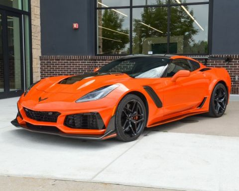 Pre-Owned 2019 Chevrolet Corvette ZR1 3ZR