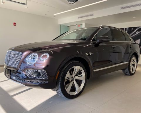 Pre-Owned 2018 Bentley Bentayga W12 Signature